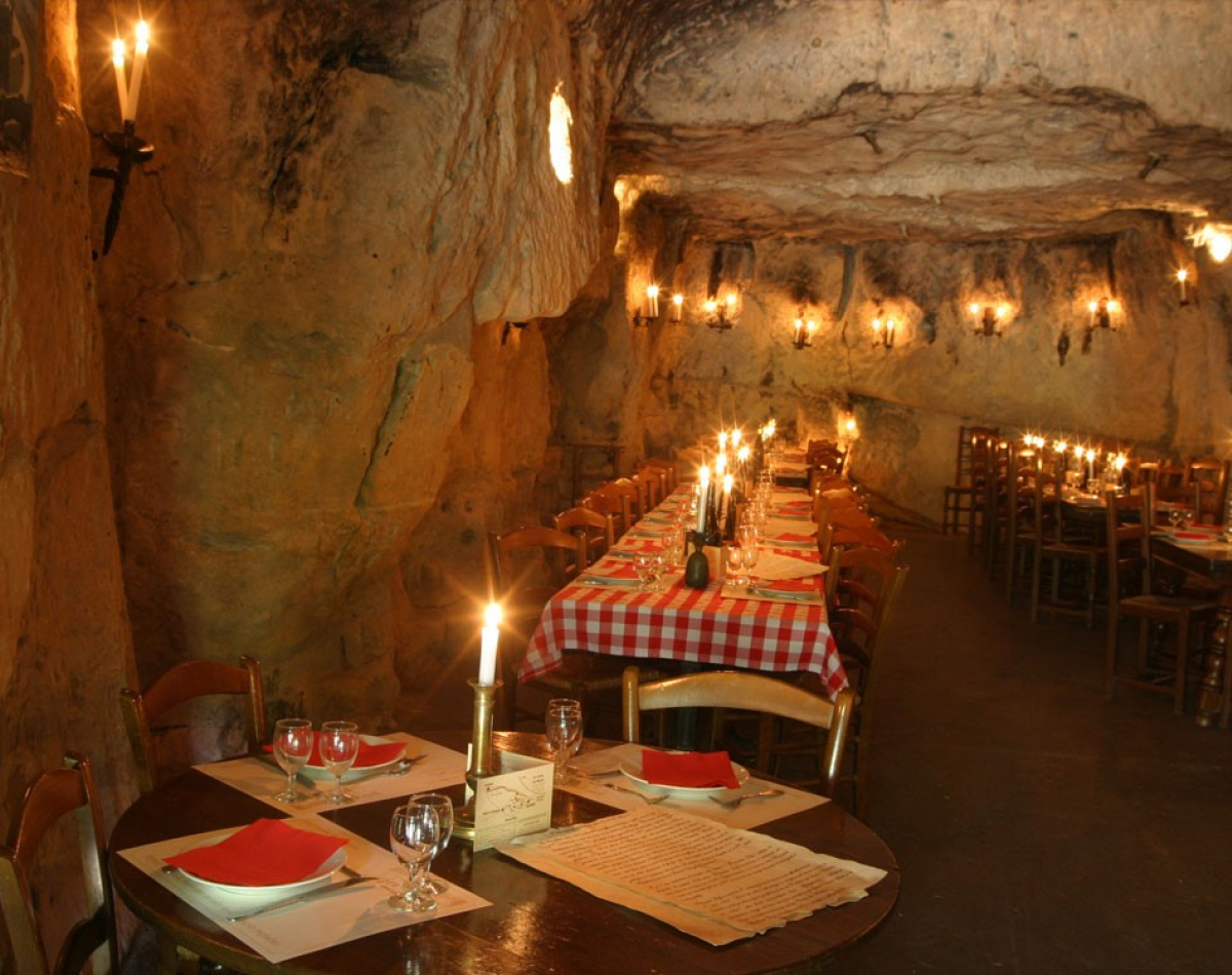 Restaurant troglodytique.